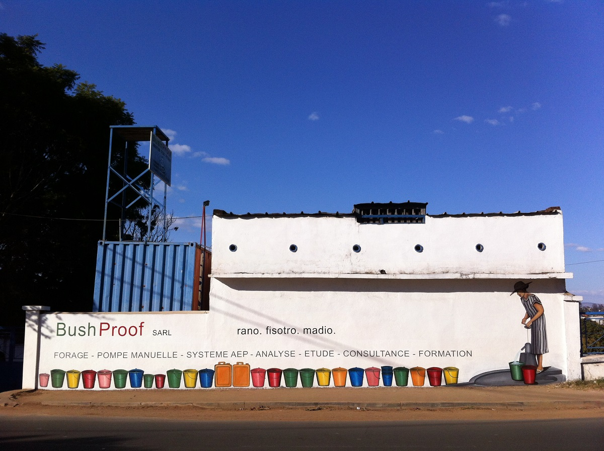 BushProof office, Antananarivo